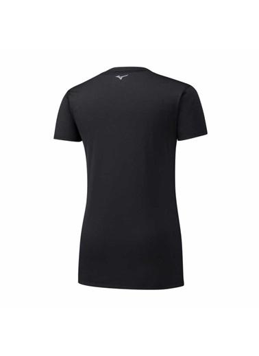 Mizuno Impulse Core Tee Kadın T-Shirt Siyah Siyah
